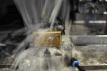 Obróbka elektrod w kloszu olejowym